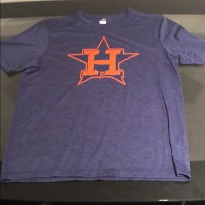 Large dryfit Astros shirt